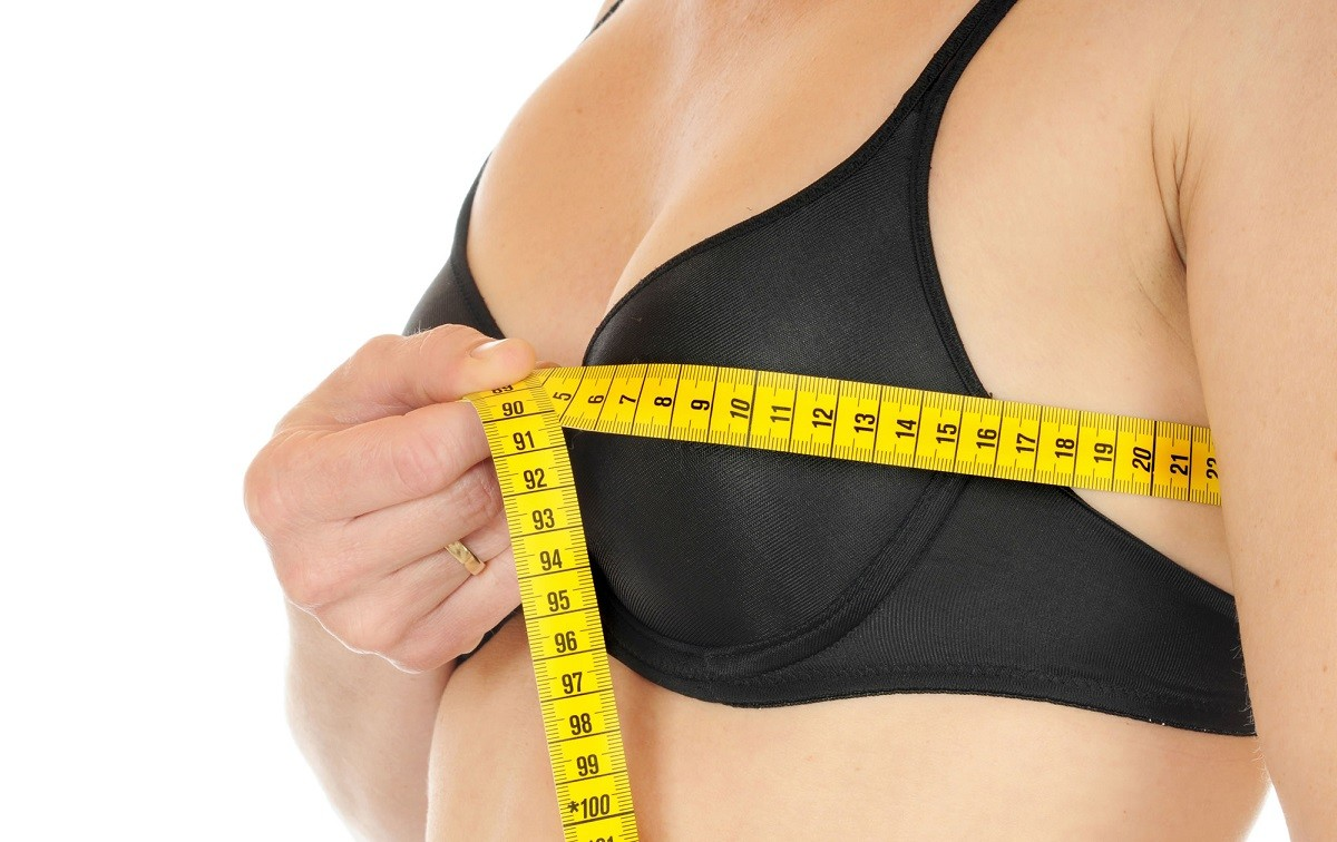 Измерение размера лифчика