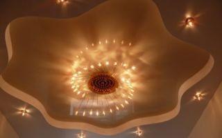 Потолок из гипсокартона – секреты правильного монтажа своими руками