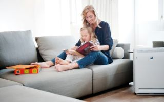 Увлажнитель и очиститель воздуха: что лучше для ребенка