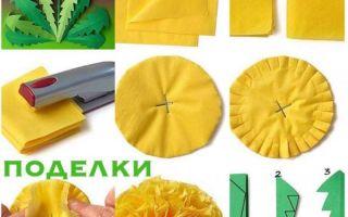 Поделки из салфеток (150 фото) — подробная инструкция для детей, варианты поделок своими руками + простые схемы и шаблоны