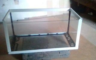 Как сделать аквариум своими руками пошагово: в домашних условиях из стекла, советы, выбор материалов, фото, инструкция по изготовлению