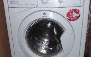 Стиральная машина Indesit IWSB 5085: инструкция