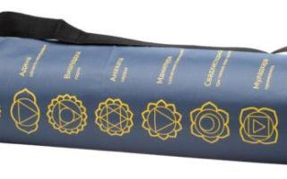 Сумка для коврика для йоги своими руками: необходимые инструменты и материалы, мастер-класс