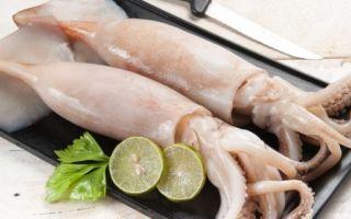 Как правильно чистить кальмары – пошаговая инструкция