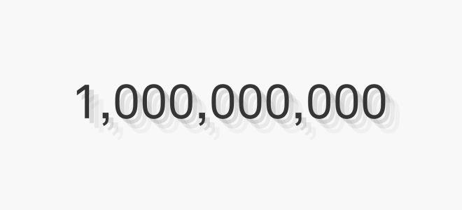 Миллиард: история цифры