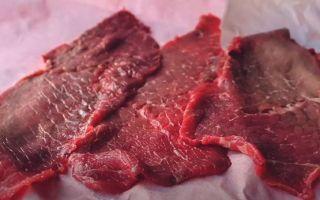 Вяленое мясо в домашних условиях: рецепты приготовления