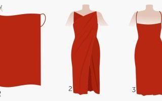 Легкое платье своими руками без выкройки: пошив, видео мк, 15 моделей