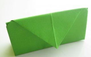 Оригами кошелек — лучшие схемы как сделать простой и красивый кошелек из бумаги