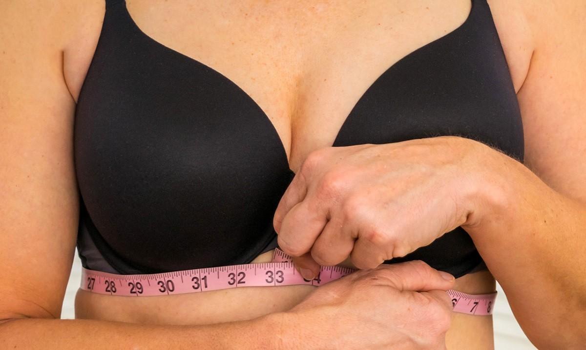 Измерение обхвата под грудью